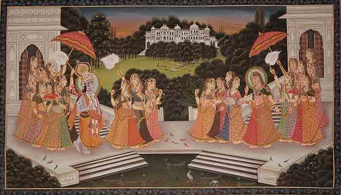 krishna meets rukmani in dwarka